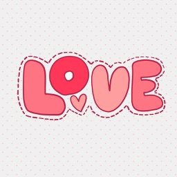 """Love"" - Stickers for iMessage"