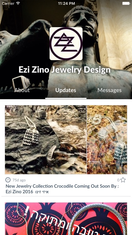Ezi Zino Jewelry Design by AppsVillage