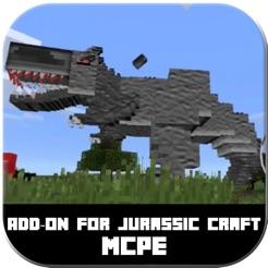 Jurassic Craft AddOn for Minecraft Pocket Edition on the App