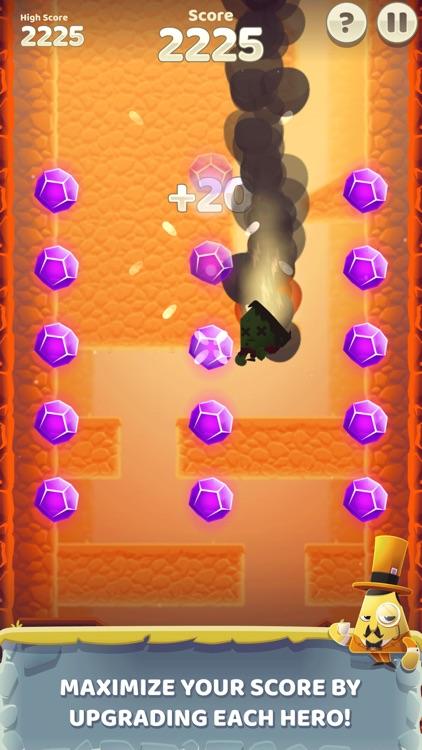 Canyon Crash - Fall Down screenshot-4