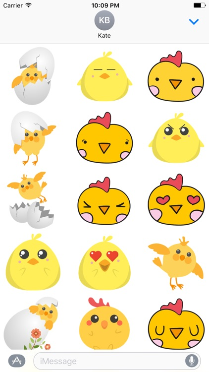 Cute Chickens - Fc Sticker