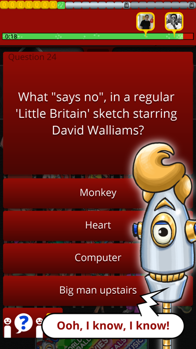 QuizTix: BBC Comedy Genius Quiz screenshot two
