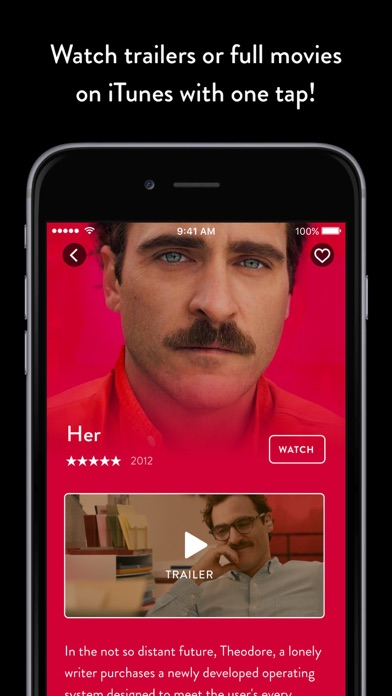 Popcorn: discover your new favourite movie Screenshot