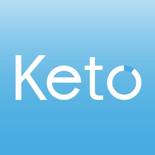 Keto diet tracker: low carb diet guide app logo