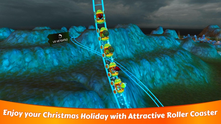 VR Christmas Roller Coaster screenshot-4