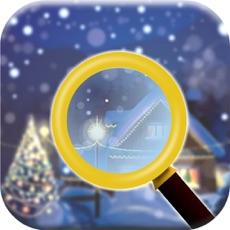 Activities of Christmas Snow Skiing:Hidden Objects