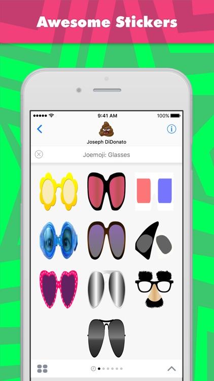Joemoji: Glasses stickers by Joemoji