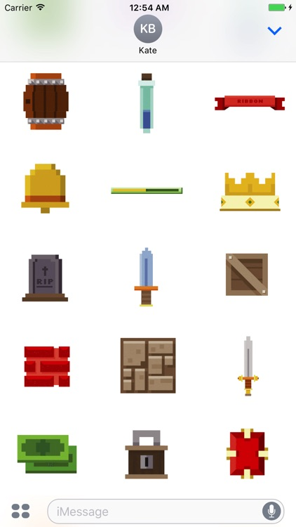 Animated Pixel Game Stickers