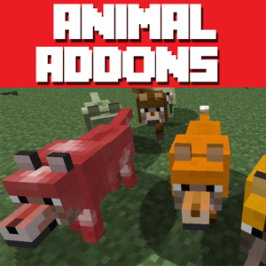 ANIMAL ADDONS - Add Ons & Games For Minecraft PE app