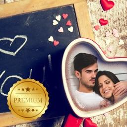 Romantic Love Photo Frames for Couples PRO