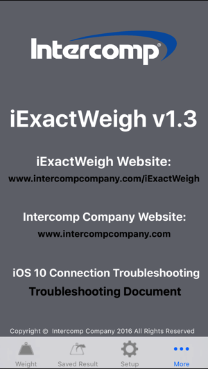 iExactWeigh on the App Store