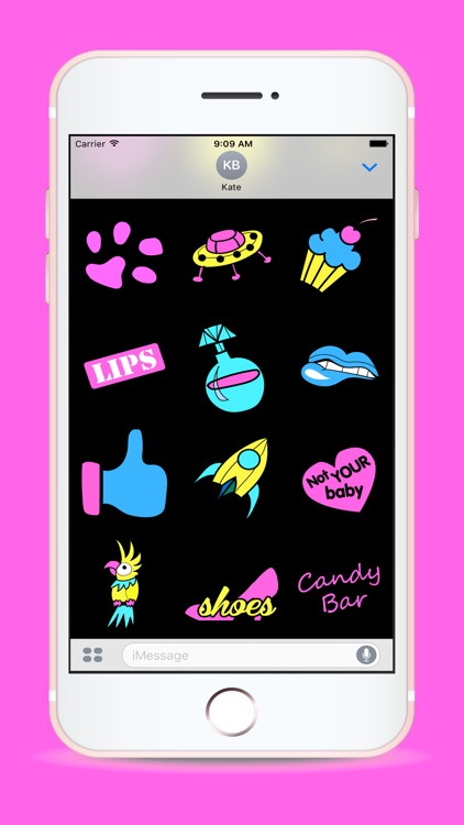 Cute Electric Animated Stickers