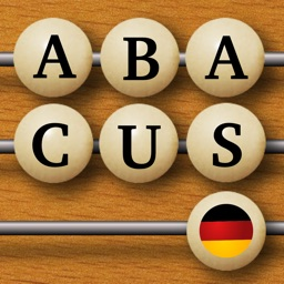 Word Abacus Deutsch