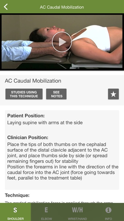 Mobile OMT Upper Extremity screenshot-2