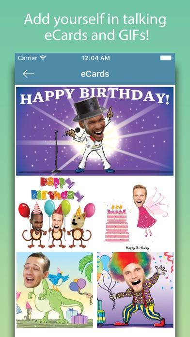 Birthday Cards - Happy Birthday Greetings & Frames screenshot one