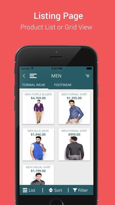 Niftyapps Premium Opencart app screenshot four