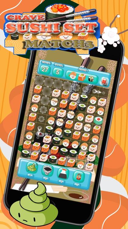 Crave Sushi Set Match 3