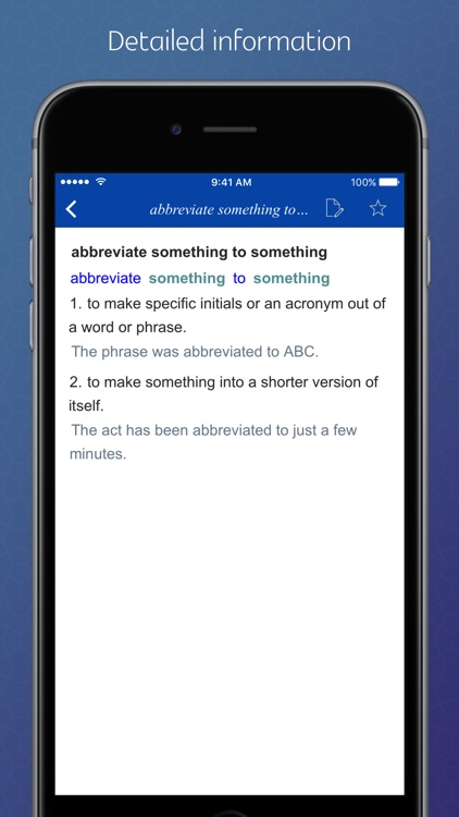 English Verb Preposition Combinations screenshot-1