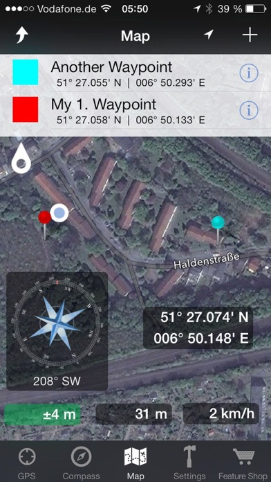 GPS & Maps: Track Coordinates, Compass + Waypoints App ...