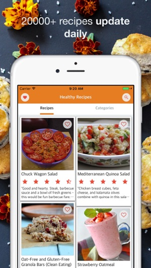 Healthy recipes best healthy meal on the app store screenshots forumfinder Image collections