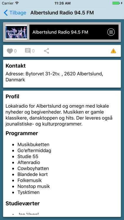Denmark Radio Online By Bui Vu
