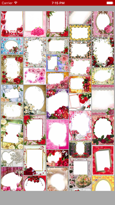 Rose Photo Frames & Rose Day Picture Effects screenshot one