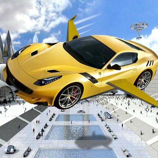 Real Flying Car Jet : Futuristic Racing Moto