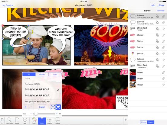 Strip Designer Screenshot 2