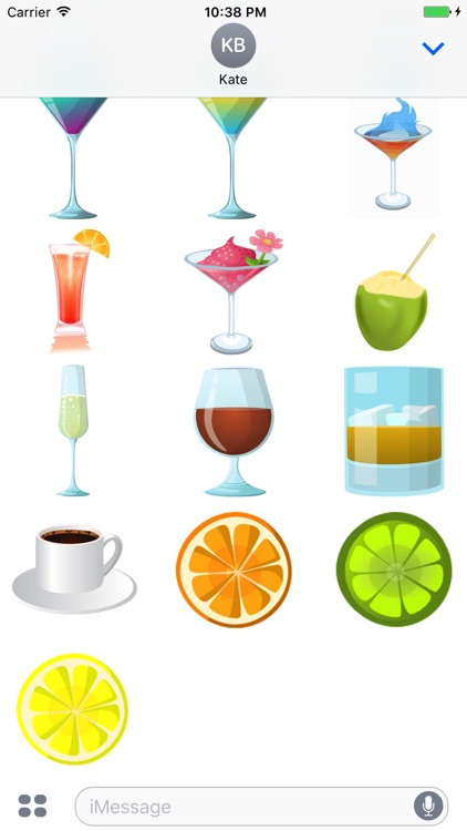 Drinks and Spirits Sticker Bar Hop screenshot-4