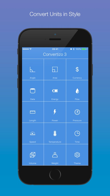 Convertizo 3 - Convert Units and Currency in Style screenshot-0