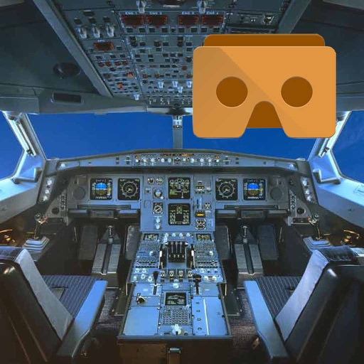 VR Flight Simulator with Google Cardboard Edition icon