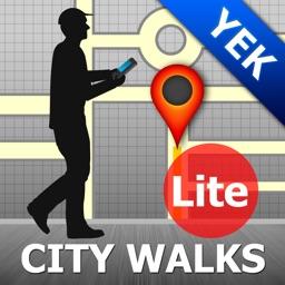 Yekaterinburg Map and Walks