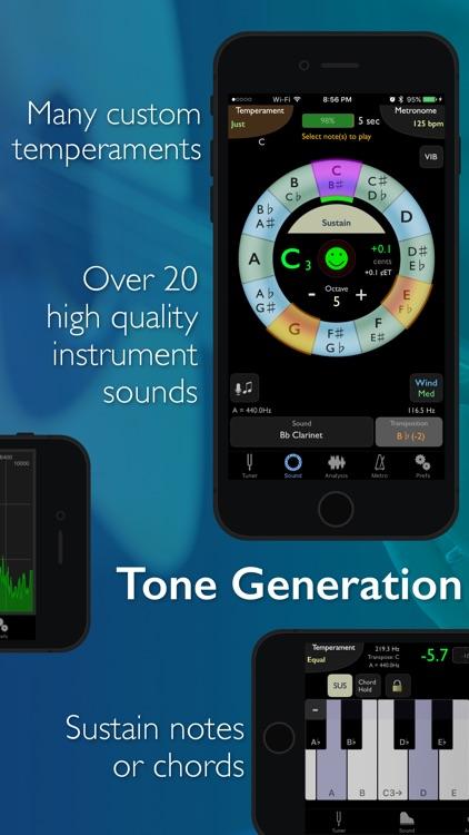 TonalEnergy Chromatic Tuner and Metronome
