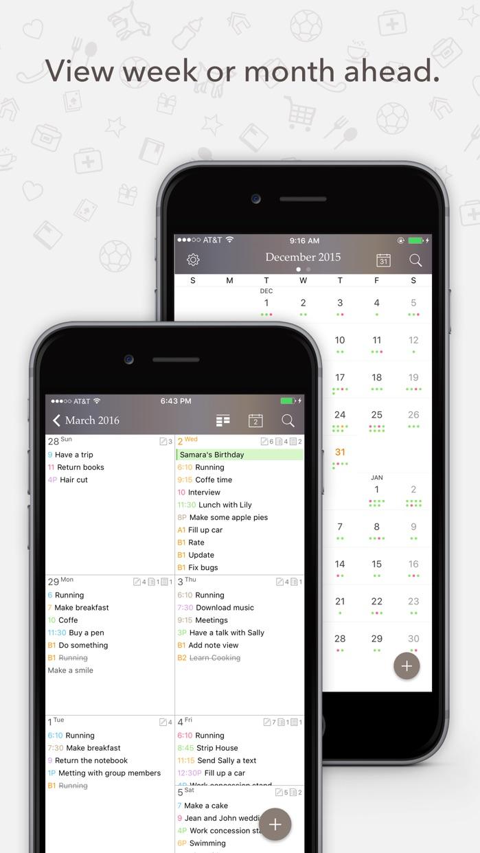 Planner Pro - Daily Calendar & Personal Organizer Screenshot
