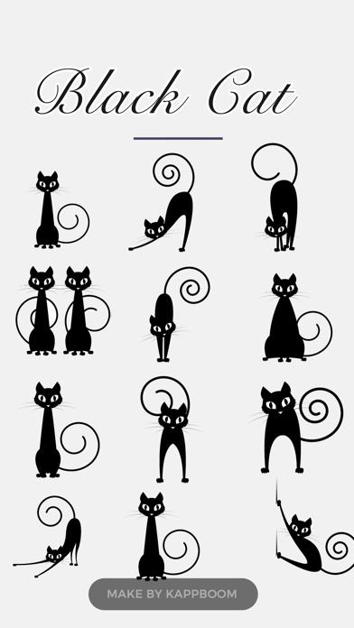 Black Cat Stickers!