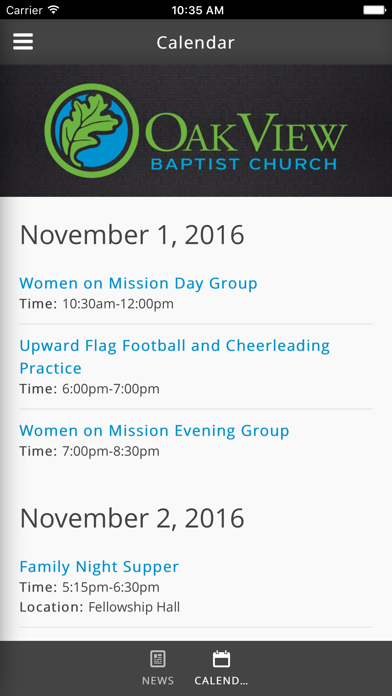Oak View Baptist Church of High Point, NC screenshot four