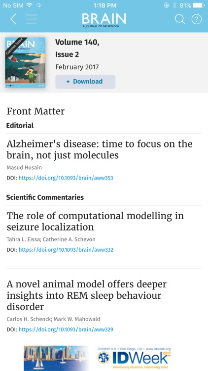 Brain Journal screenshot-1