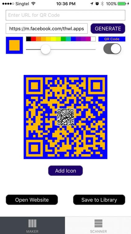 QR Code Maker Scanner screenshot-3
