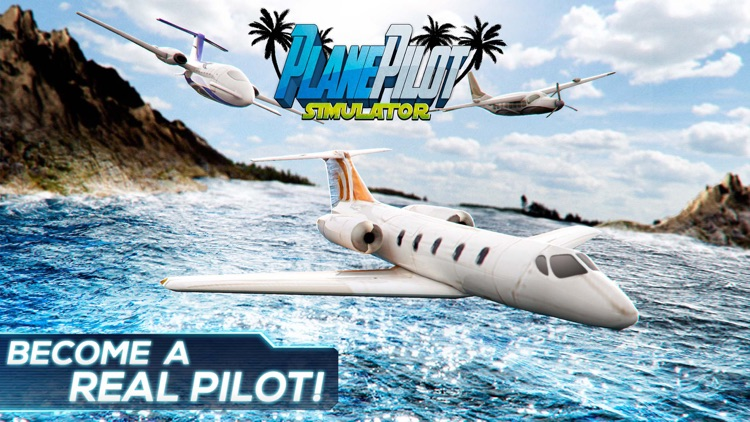 Plane Pilot Simulator   Virtual Airplane 3D by FREESTYLE