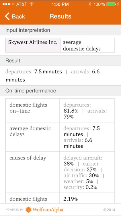 Wolfram Flight Information Reference App screenshot-3