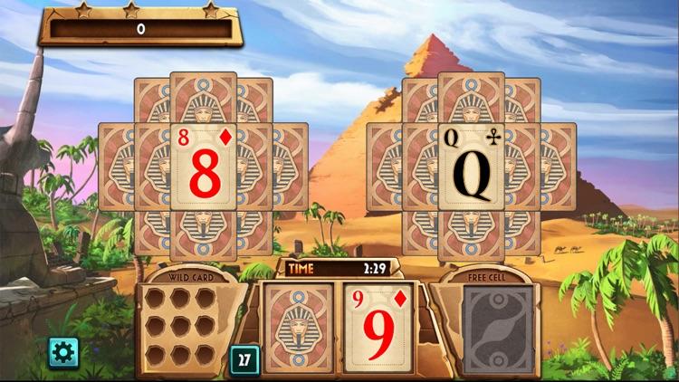 蜘蛛纸牌游戏埃及冒险:空挡接龙单机升级版