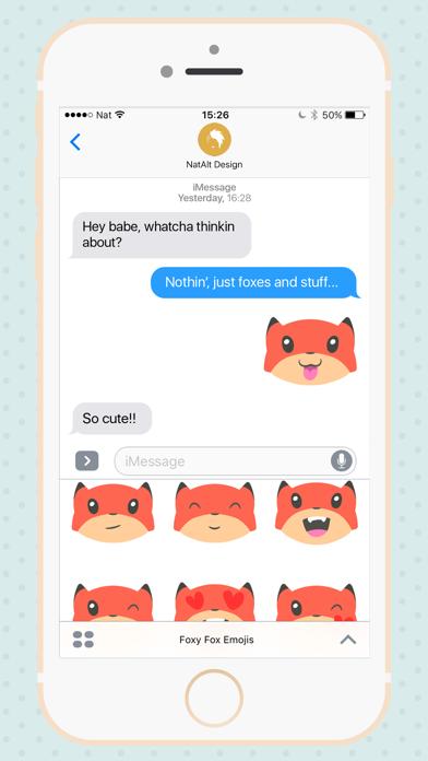 Foxy Fox Emojis | App Price Drops
