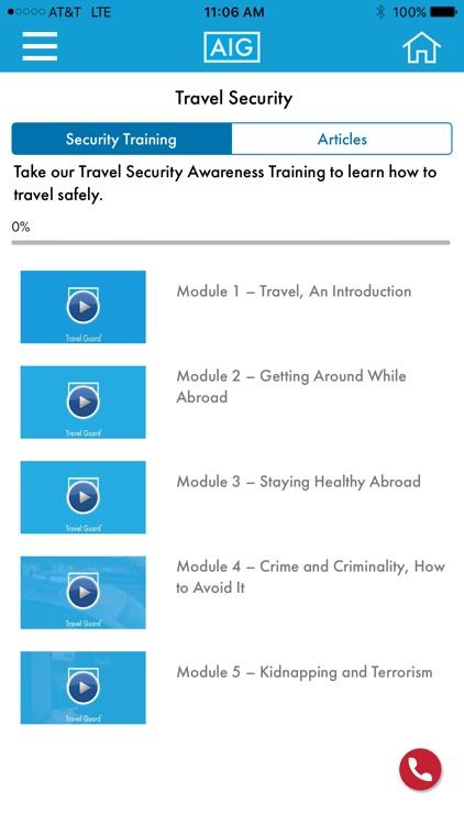 AIG Travel Assistance screenshot-4