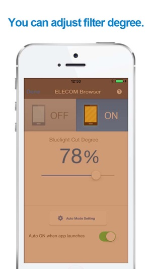 elecom browser free (blue light cut filter) on the app store