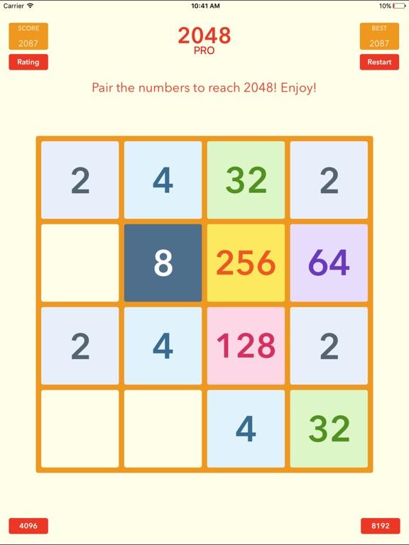 Screenshot #5 for 2048 Tile Pairing Challenge - Professional Version