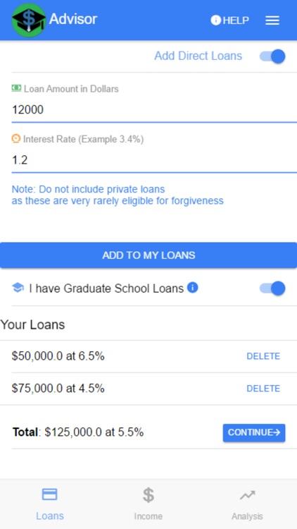 Student Loan Advisor screenshot-4