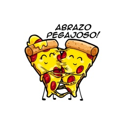 Stickers Amor De Pizza de Xelidhean