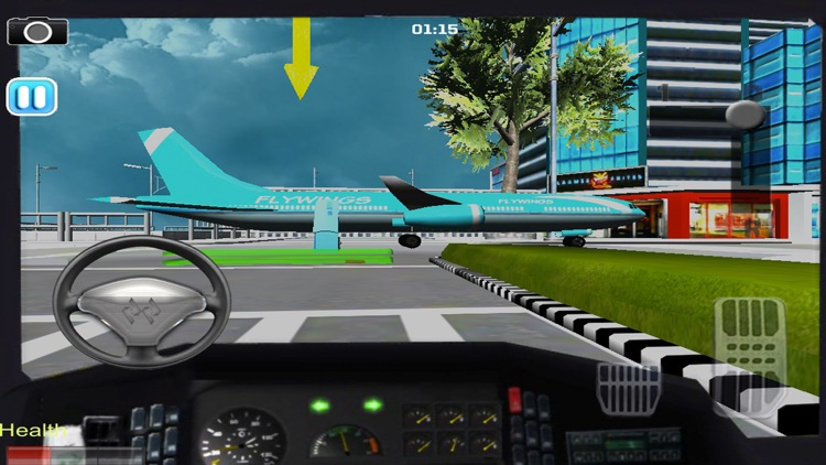 Airport Bus Parking Simulator 3D screenshot-3