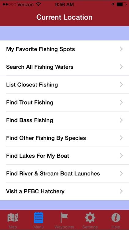 GPS Fishing Guide to PA screenshot-4