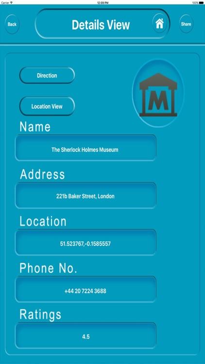 London UK City Offline Map Navigation EGATE screenshot-3
